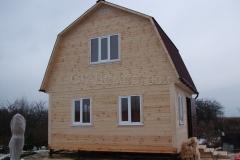 Дом из бруса 5х6 Талдом 1