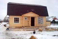 Дом под усадку 7х9 Богдан 5