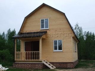 Строительство каркасных домов в СПб под ключ