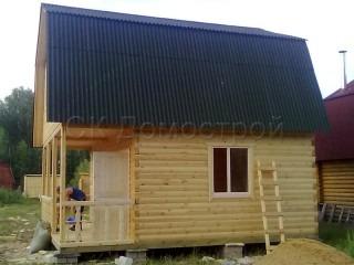 Одноэтажный дом 6 на 6