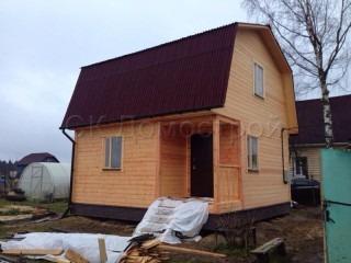 Каркасный дом для дачи