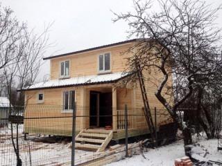 Дом из бруса 7х9 двухэтажный
