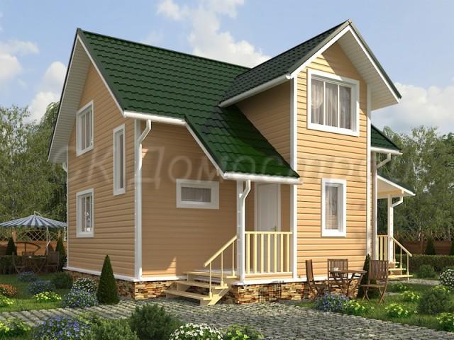 Проект дома 8х10