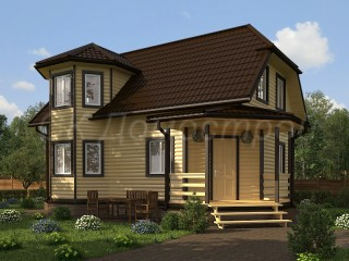 Купить дом из бруса под ключ Бокситогорск