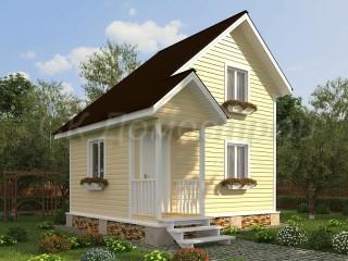 Дешевый каркасный дом
