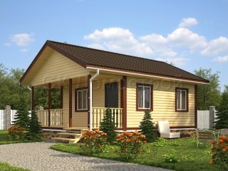 Дома из бруса в Рязани