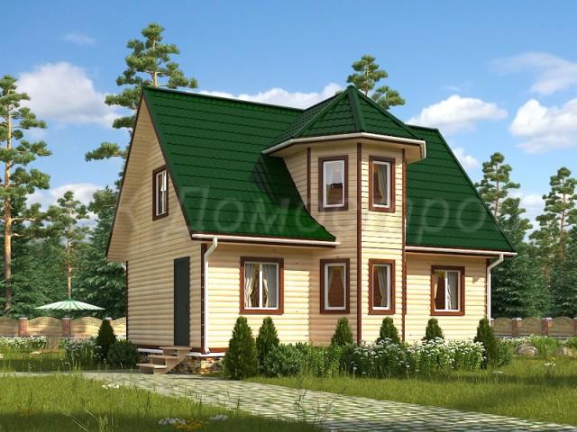 Дом из бруса 150х150