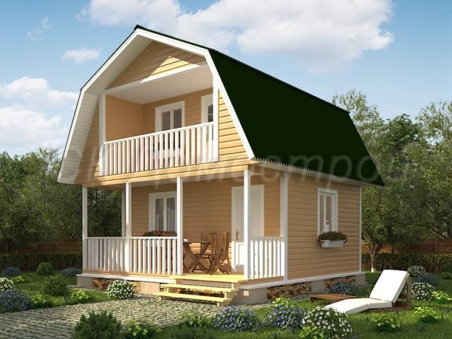 Каркасно-щитовые дома