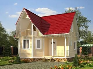 Проект дома 7х7