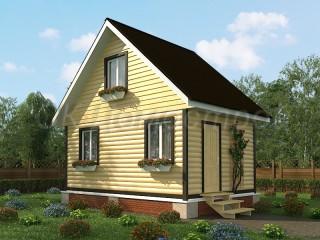 Недорогие дома из бруса под ключ Серпухов