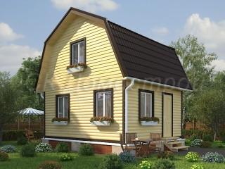 Дом из бруса 5х6