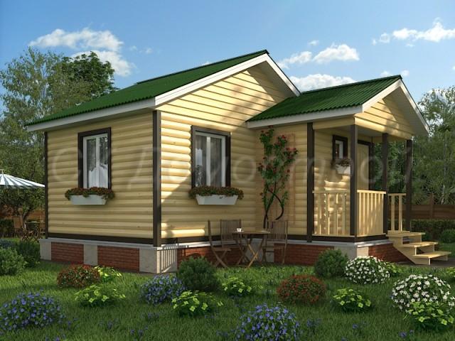 проекты домов из бруса СПб
