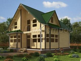 Срубы домов в СПб