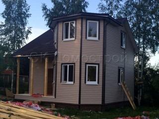 Проект каркасного дома 7х7