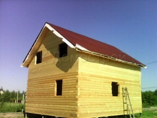 Срубы домов в Калуге