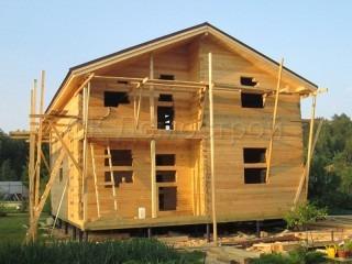 Дом из бруса без отделки