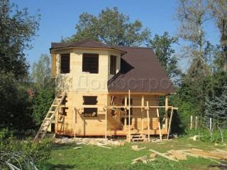 Срубы домов из Псковской области