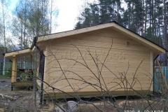 Баня из бурса 7,5х8 Правдинское Озеро 8