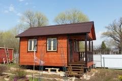Дом из бруса 4х6,5 Выборг 1