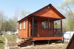 Дом из бруса 4х6,5 Выборг 2