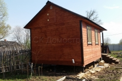 Дом из бруса 4х6,5 Выборг 3