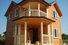 Дом из бруса 6,5х6,5 Торжок Желыбино 2