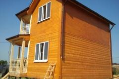 Дом из бруса 6,5х6,5 Торжок Желыбино 3