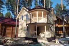 Дом из бруса 6,5х6,5 Озеро Свято 1