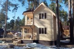 Дом из бруса 6,5х6,5 Озеро Свято 3