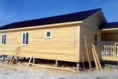 Дом из бруса 6х12 Шальдиха 1