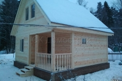 Дом из бруса 6х6 Захожье 1