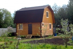 Дом из бруса 6х6 Вельск 1