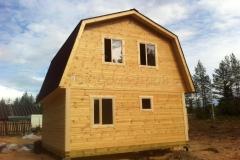 Дом из бруса 6х6 Сарка 4