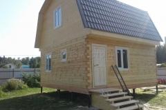 Дом из бруса 6х6 Вельск СНТ Алешково 68