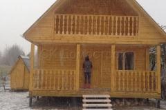 Дом из бруса 6х6 деревня Назия 1