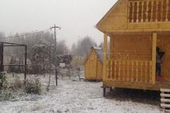 Дом из бруса 6х6 деревня Назия 2