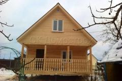 Дом из бруса 6х7,5 Елгозино 1
