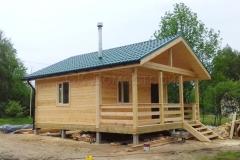 Дом из бруса 6х7 поселок Зелени 1