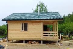 Дом из бруса 6х7 поселок Зелени 10
