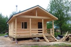 Дом из бруса 6х7 поселок Зелени 2