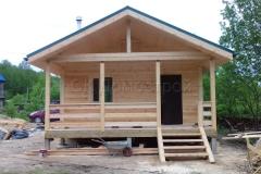 Дом из бруса 6х7 поселок Зелени 3