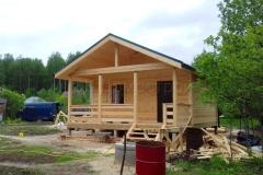 Дом из бруса 6х7 поселок Зелени 6