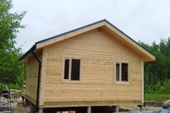 Дом из бруса 6х7 поселок Зелени 7