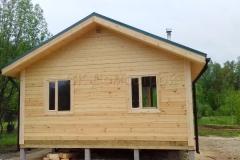 Дом из бруса 6х7 поселок Зелени 8