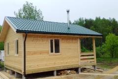 Дом из бруса 6х7 поселок Зелени 9