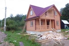 Дом из бруса 6х8 дер. Лихун 2