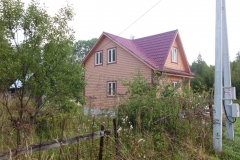 Дом из бруса 6х8 дер. Лихун 3