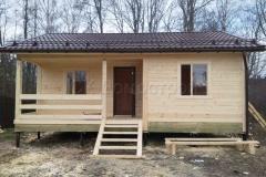 Дом из бруса 6х8 деревня Плишкино 3