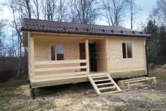 Дом из бруса 6х8 деревня Плишкино 4