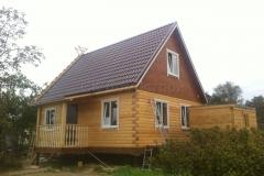 Дом из бруса 6х8 Вязьма-Брянская 1